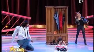 Micuța actriță Sofia i-a făcut pe Jojo și Denis Ștefan să se ia la bătaie