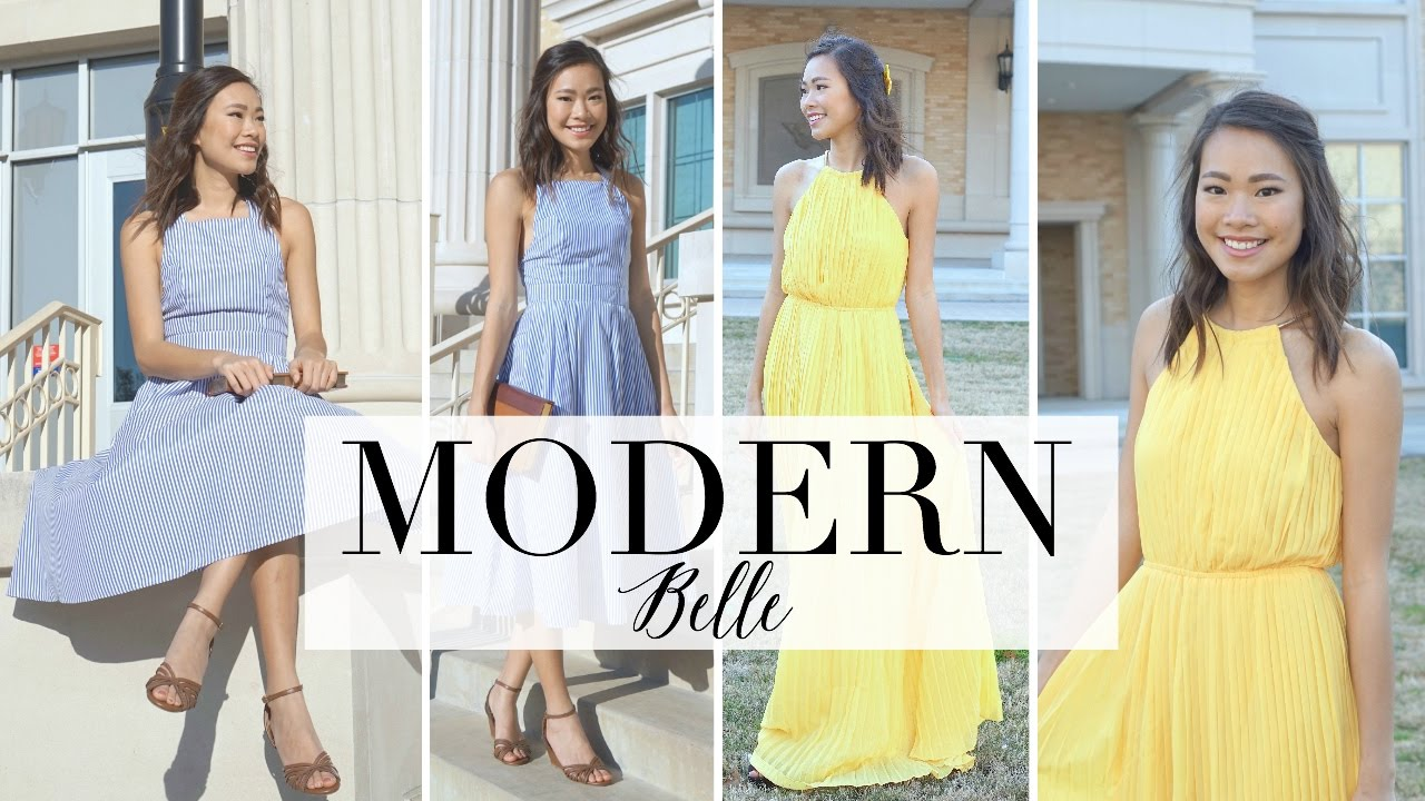 Modern Belle | Beauty and the Beast inspired outfits  sc 1 st  YouTube & Modern Belle | Beauty and the Beast inspired outfits - YouTube