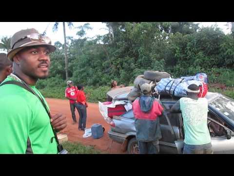 My trip to Cameroon: At the Tikar village of Njinga on the way to Nditam