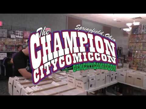 Champion City Comic Con 2017 promo video