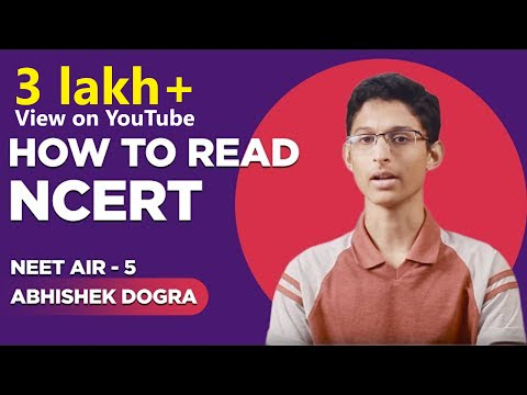 How to read NCERT Books for NEET  | Rank-5 | NEET 17 Abhishek Dogra  - Pune
