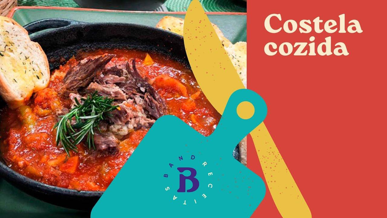Receita de costela cozida leva legumes em lascas | Stefano | Bruzzone