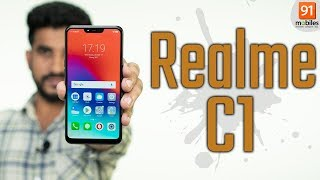 Realme C1 review: Should you buy it in India? [Hindi हिन्दी]