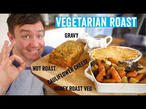 How to make a roast dinner #5   Vegetarian Roast