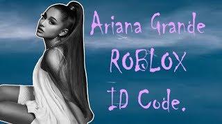 ariana-grande-roblox-id-codes