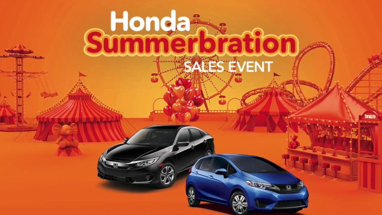 Honda Summerbration In College Station At Allen