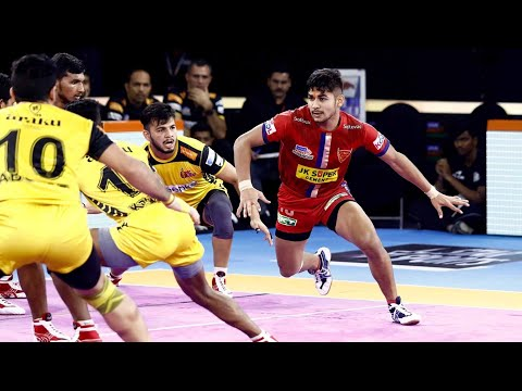 Pro Kabaddi 2019 Highlights | Telugu Titans vs Dabang Delhi | M94