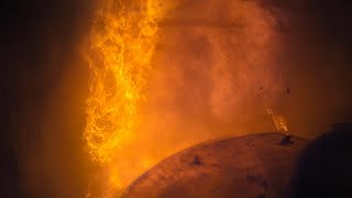Structure Fire Helmet Cam 2021 (Clear interior helmet cam footage with rollover)