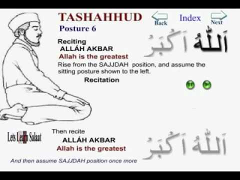how to pray namaz in english