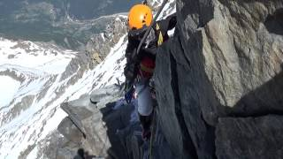 Mont Blanc June 2014: From Grand Couloir to Refuge du Goûter