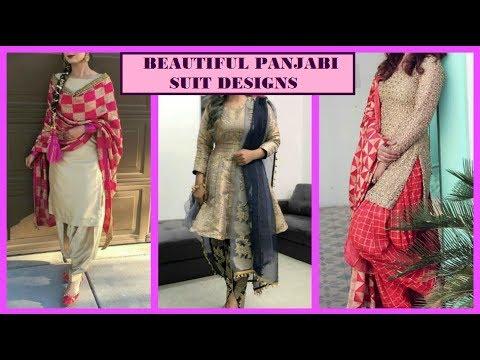 Latest Salwar Kameez / Panjabi Suit Designs 2019 || Churidar Suit and Patiyala Salwar Designs
