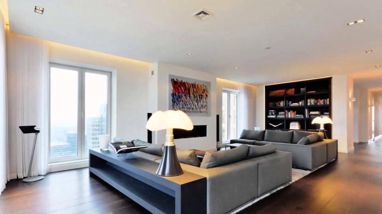 Luxury renovated penthouse amsterdam youtube