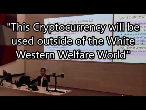 Bitcoin: a Political Ideology - Julio Alejandro at University of Cardiff