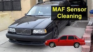 Mass Air Flow Sensor, MAF Cleaning Or Replacement, Error Code P103 - Auto Repair Series