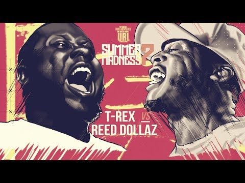 T-REX VS REED DOLLAZ SMACK RAP BATTLE | URLTV