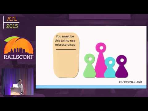 RailsConf 2015 - Microservices, a bittersweet symphony