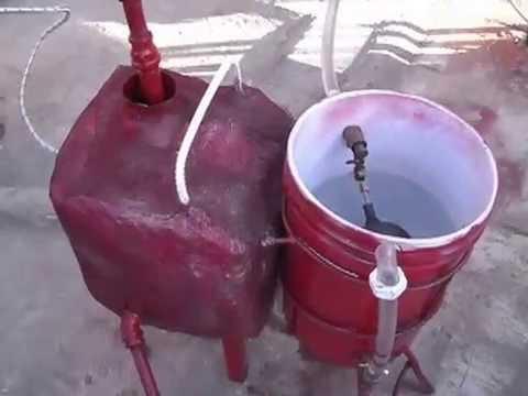 Generador de Vapor Portatil Tipo Caldera
