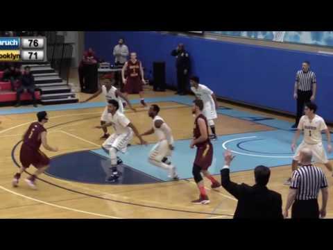 Niv Konfino Junior Season Highlights, Brooklyn College Bulldogs