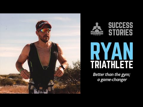 """Ironman - """"Better than the gym; a game-changer"""" (Man Flow Yoga Success Story)"""