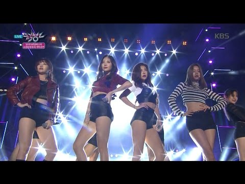 MUSIC BANK 뮤직뱅크 - Girl's Day 걸스데이 - Ring My Bell 링마벨.20160930