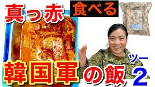 【実食】元自衛隊員が韓国軍の戦闘糧食を開けてみたら超ビックリした!! 【メニュー2】 Korea military Ration Food