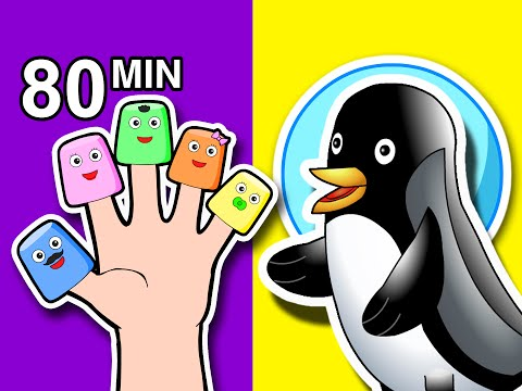 Finger Family Songs Collection | 80 Mins of Nursery Rhymes | Kindergarten Kids Learn by BusyBeavers