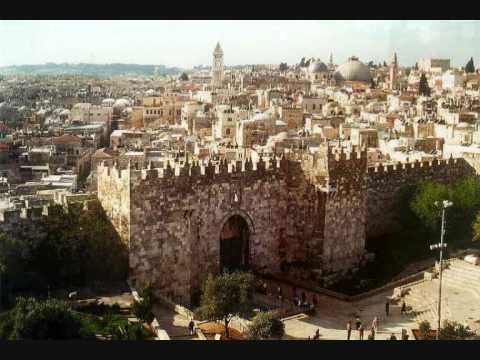 [Music] Frieden dir, Jerusalem
