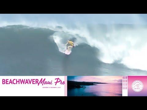 Gilmore vs. Erickson vs. Blanchard - Round One, Heat 3 - Beachwaver Maui Pro 2018