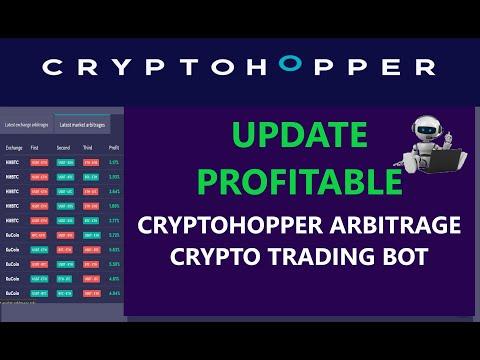 Update How to Make Profit Using CryptoHopper Arbitrage Crypto BTC Bitcoin ETH Ethereum Trading Bot