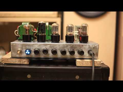 DIY  Mesa Boogie Dual Rectifier Red Channel 5watt