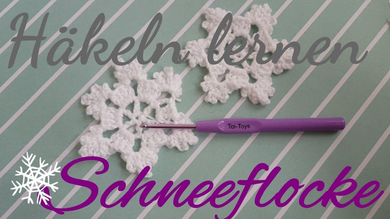 Diy Häkeln Schneeflocke Weihnachtsstern Eiskristall
