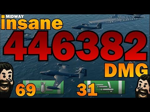 THE NEW RECORD ✖️ 446382 DMG ✖️ USS MIDWAY || World of Warships