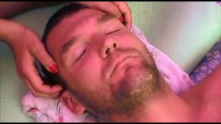 Китайский массаж лица и головы/Head and face massage