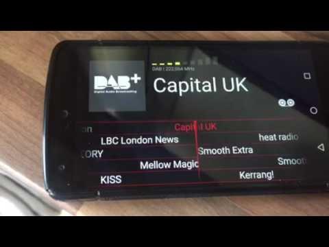 Dab radio London wavesink Plus