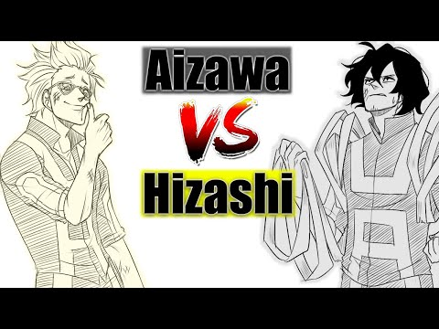 Aizawa VS Hizashi (MHA Comic Dub)