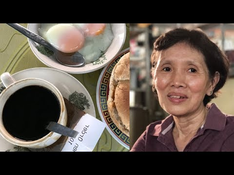 61- yr old authentic  Hainanese kopitiam in Klang : A rare sight