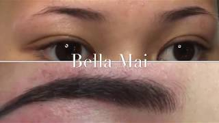 Eyebrow Microblading / Tattooing ~ Before, During & After Treatment