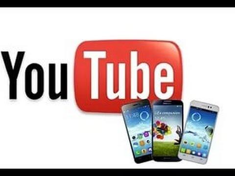 Раскрутка youtube с телефона