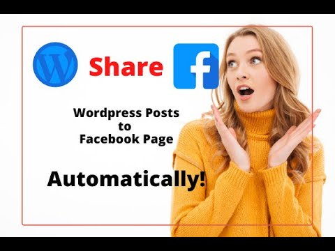 WordPress post facebook twitter automatically