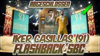 FIFA 19: FLASHBACK ICON CASILLAS (91) SBC abgeschlossen 🔥😍 MEIN BESTER SPIELER IM PACK! 💰🎉