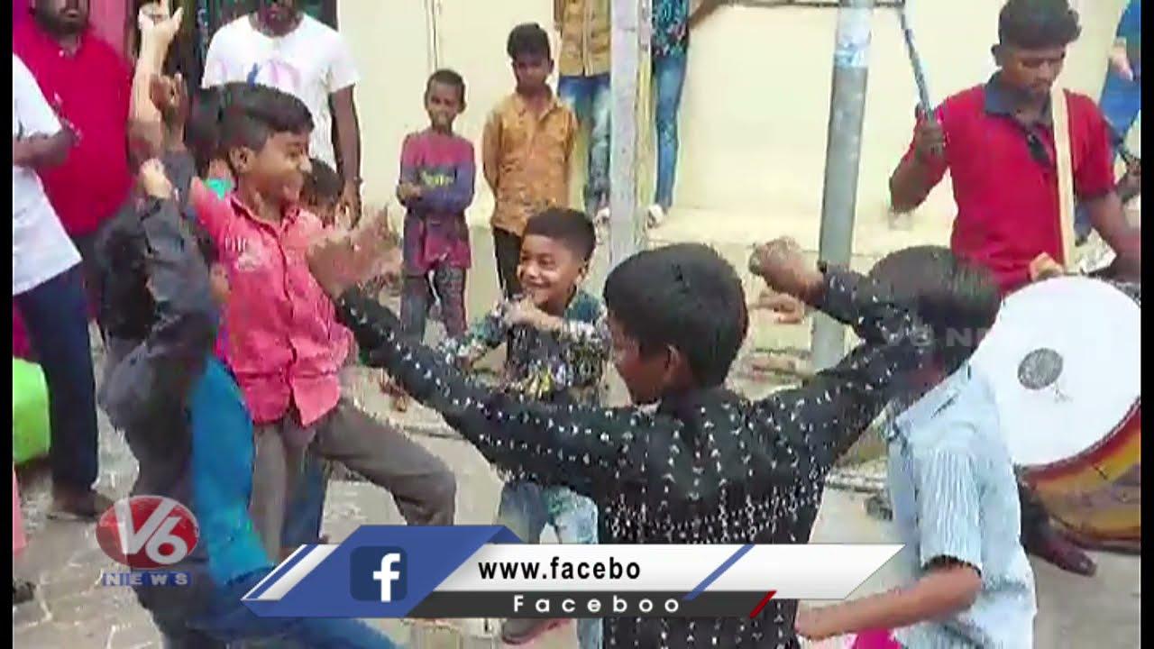 Download Ganesh Nimajjanam Teenmaar Dance 2021| V6 News