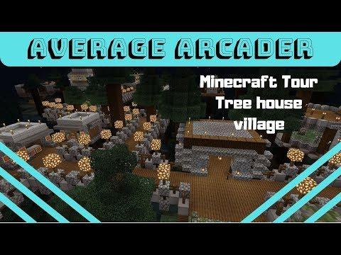 Minecraft Tour /Tree House Village