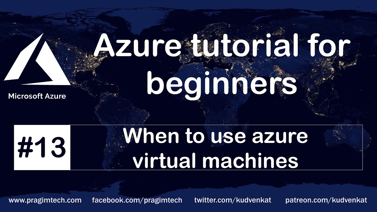 When to Use Azure Virtual Machines