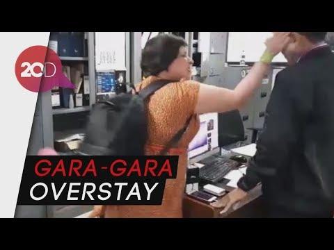Turis Inggris Marah-marah dan Tampar Petugas Imigrasi di Ngurah Rai