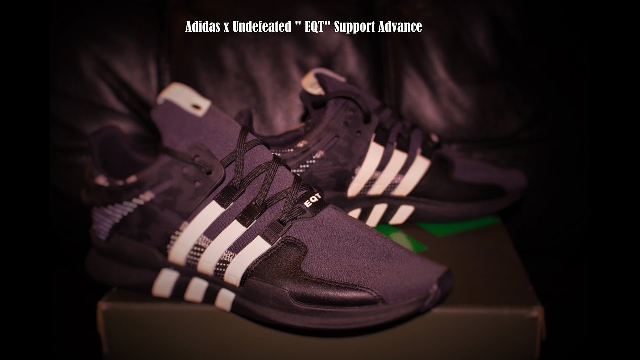 ffd75086ad792 Adidas x Undefeated EQT Review - YouTube