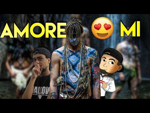 ACHILLE LAURO - AMORE MI (Prod Boss Doms) Reaction