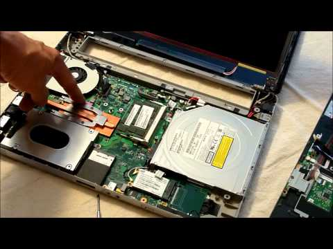 Toshiba Laptop with Intermittent Video Backlight LVDS Cable Hinge E105 Series Repair Fix