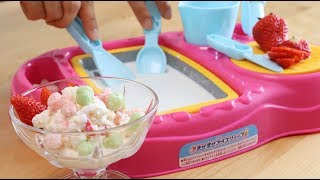 New Cooking Toy Mix and Rolled Ice Cream Maker