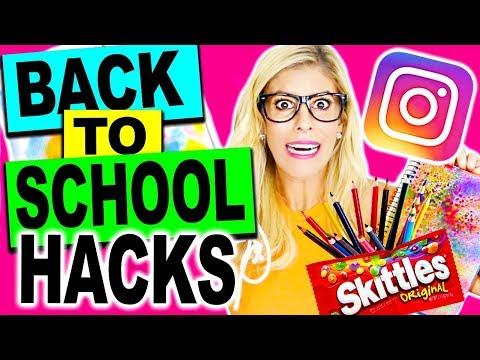 TESTING DIY BACK TO SCHOOL VIRAL INSTAGRAM HACKS!!
