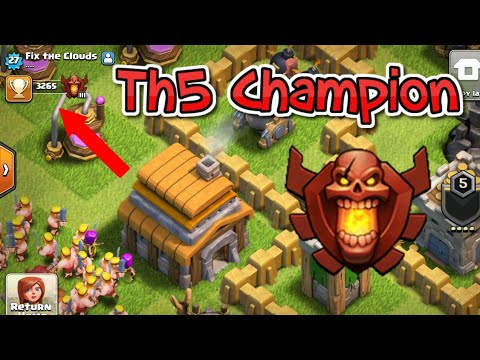 || Th5 In Champion League!!! | Th5 Barch Attacks//Epic Defence |  @clashwithduplex ||